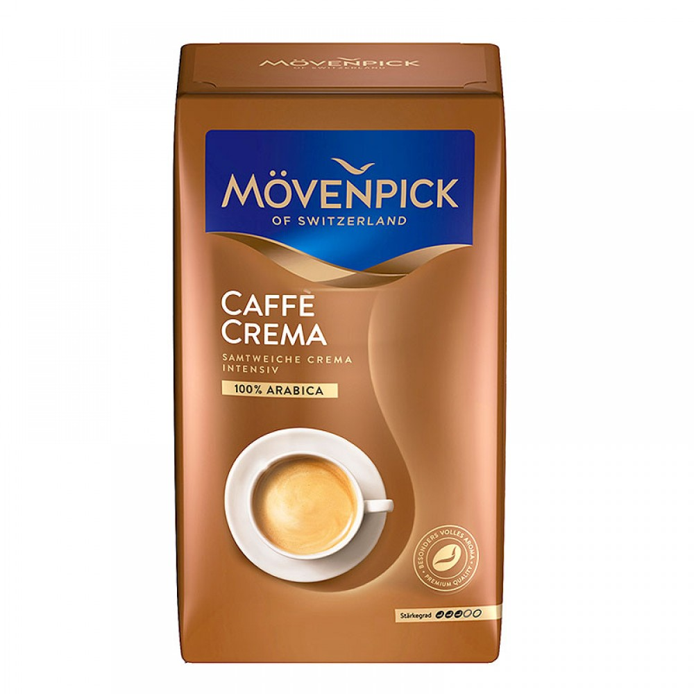 Кофе зерновой Movenpick of Switzerland Cafe Crema (Германия, 500 гр).