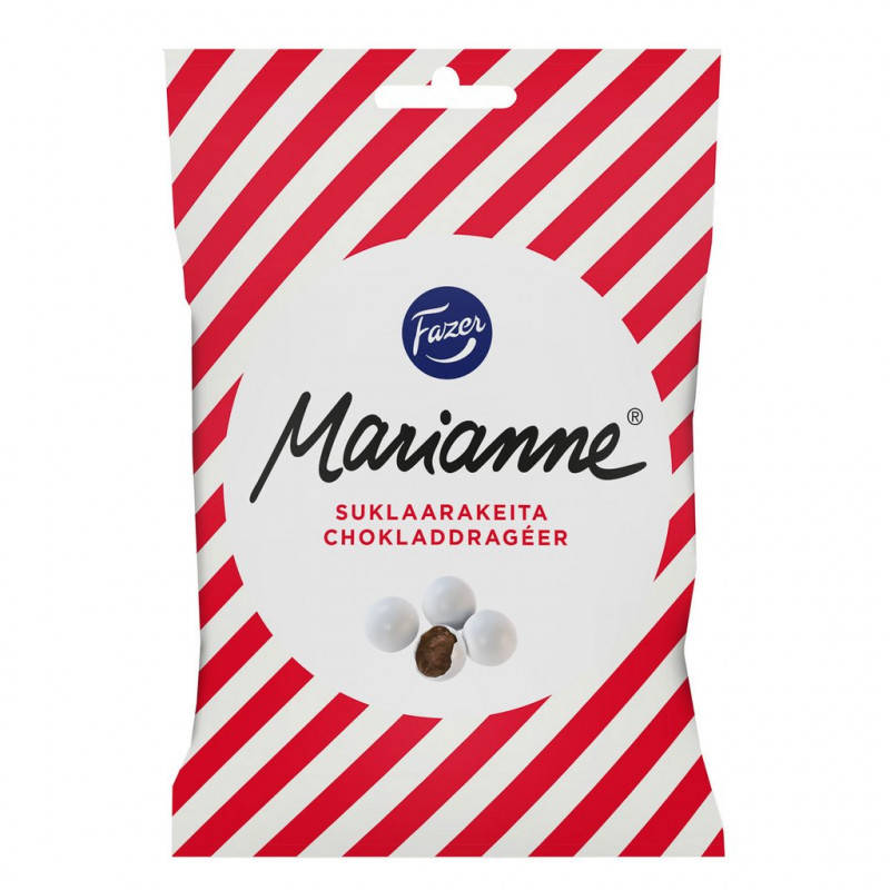 Конфеты Fazer Marianne chocolate mint candies (Финляндия, 220 гр.)